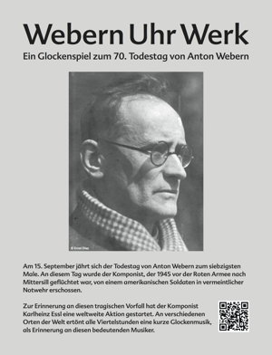 World-Wide Webern Poster deutsch